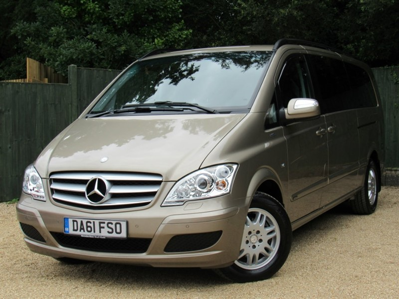 used Mercedes Viano CDI Ambiente Compact MPV 5dr in in-dorset