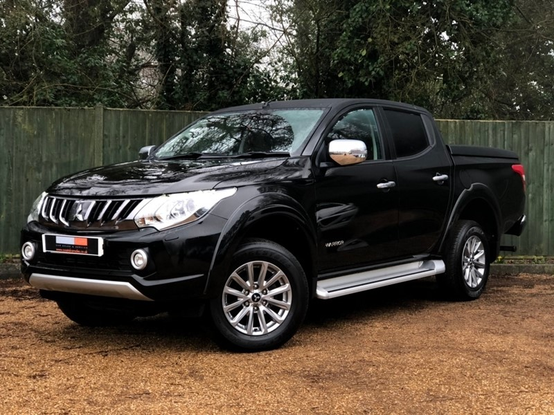 used Mitsubishi L200 DI-D Warrior Double Cab 4WD 4dr (EU6) in in-dorset