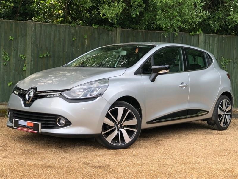 used Renault Clio dCi Dynamique S Nav EDC Auto 5dr in in-dorset