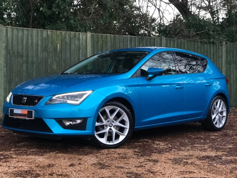 used SEAT Leon EcoTSI FR (Tech Pack) (s/s) 5dr in in-dorset