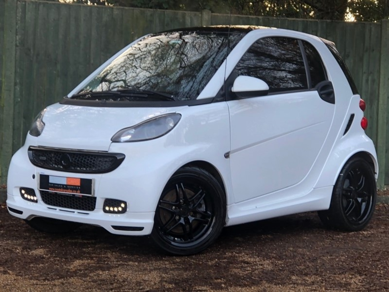 used Smart Car Fortwo Turbo BRABUS Xclusive Softouch 2dr in in-dorset
