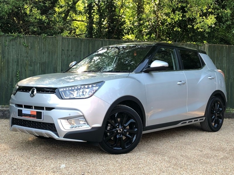 used Ssangyong Tivoli TD ELX 4x4 5dr in in-dorset