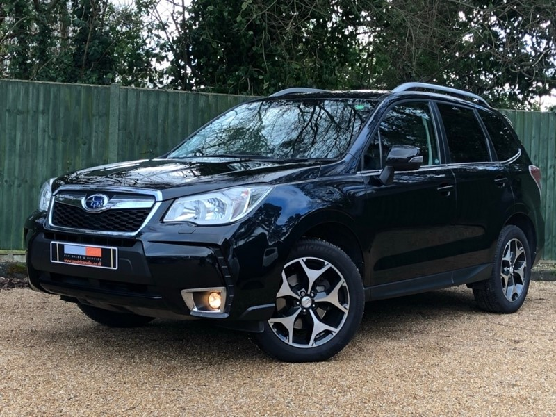 used Subaru Forester i Turbo XT Lineartronic 4x4 5dr in in-dorset