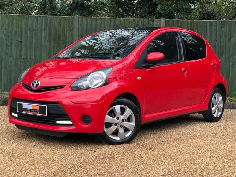 used Toyota Aygo VVT-i Move Style Multimode 5dr in in-dorset