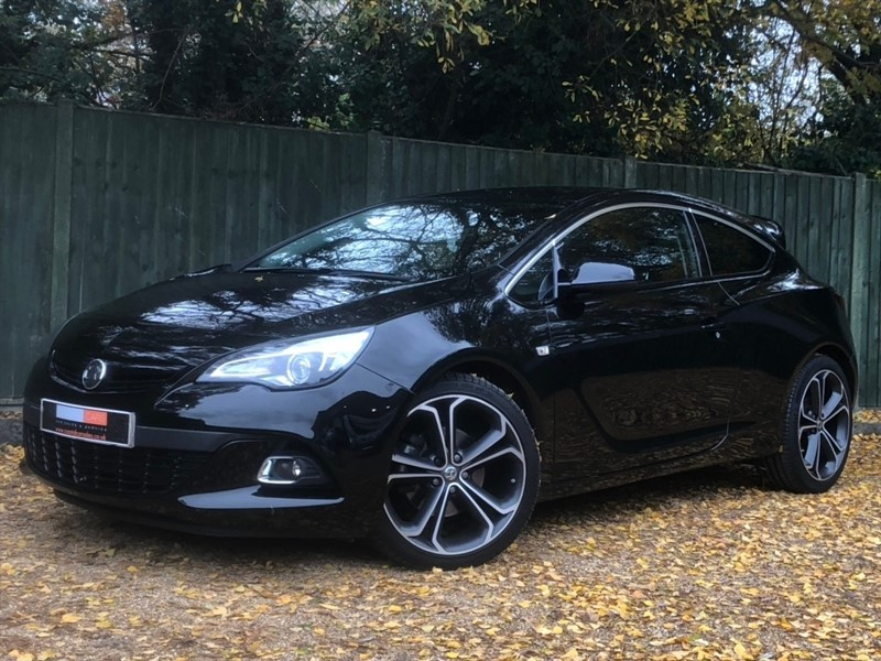 used Vauxhall Astra GTC i Limited Edition 3dr in in-dorset