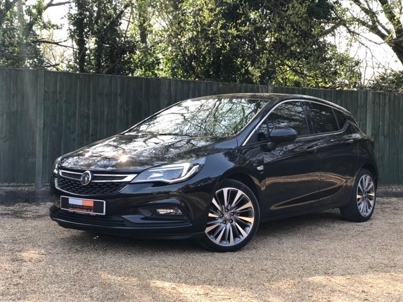 used Vauxhall Astra CDTi BiTurbo SRi Nav (s/s) 5dr in in-dorset