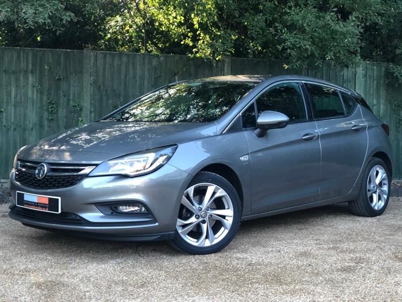 used Vauxhall Astra i Turbo 16v SRi (s/s) 5dr in in-dorset
