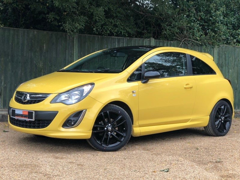 used Vauxhall Corsa 1.2 i 16v Limited Edition 3dr (a/c) in in-dorset