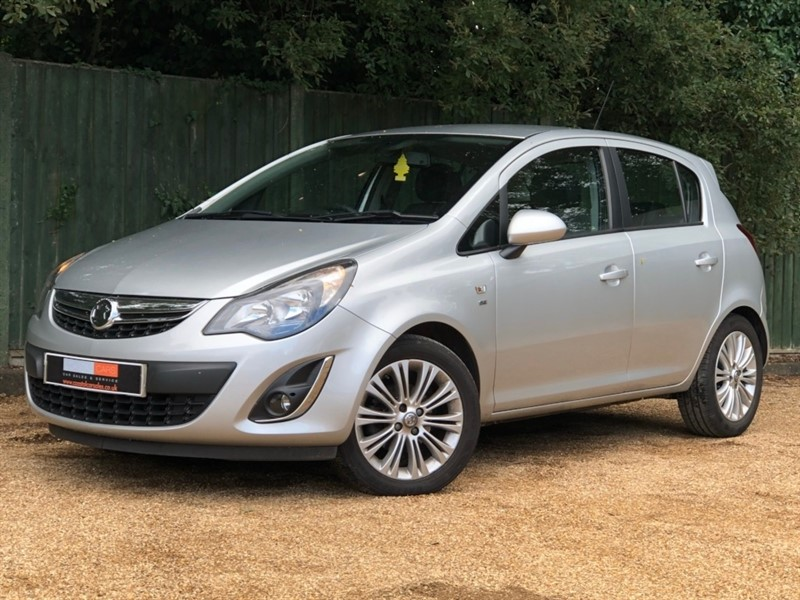 used Vauxhall Corsa 1.2 i 16v SE 5dr (a/c) in in-dorset