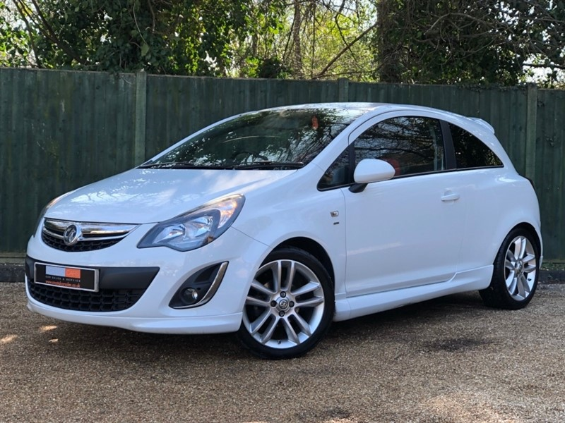used Vauxhall Corsa i 16v SRi 3dr (a/c) in in-dorset