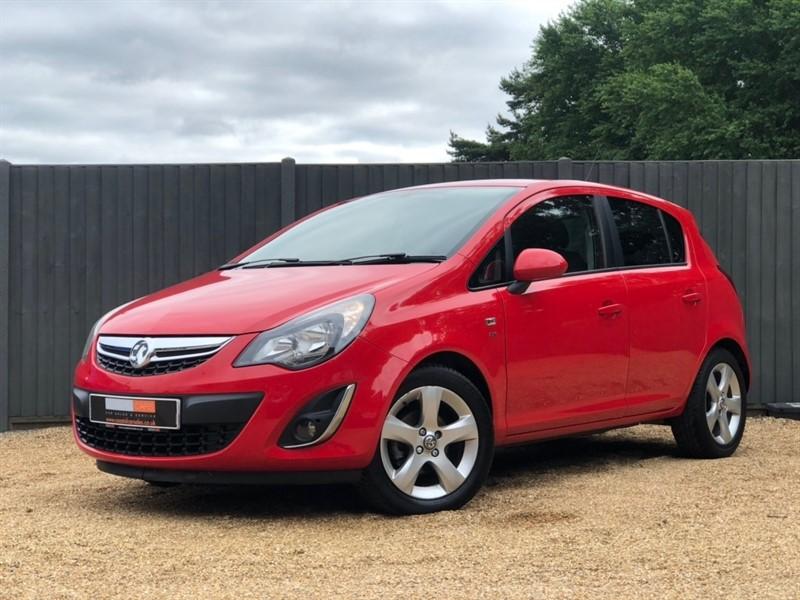 used Vauxhall Corsa i 16v SXi 5dr in in-dorset