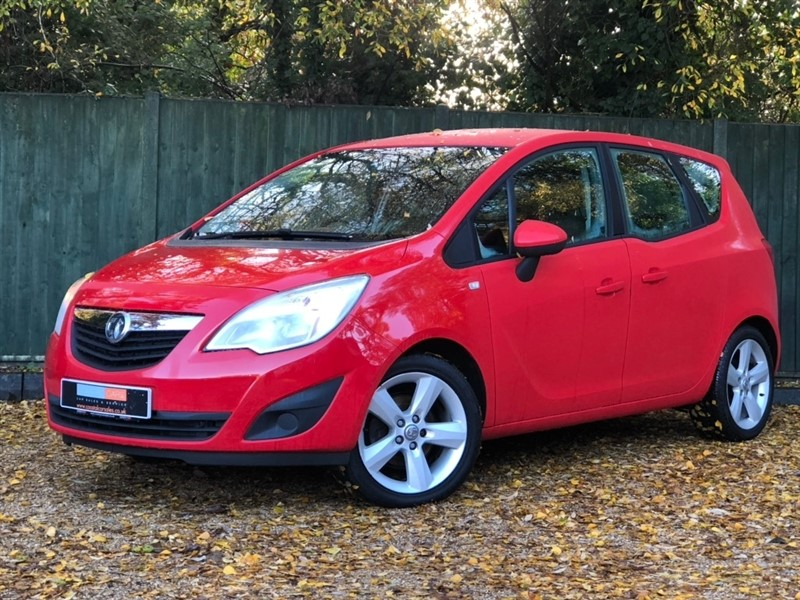 used Vauxhall Meriva i 16v Exclusiv 5dr (a/c) in in-dorset