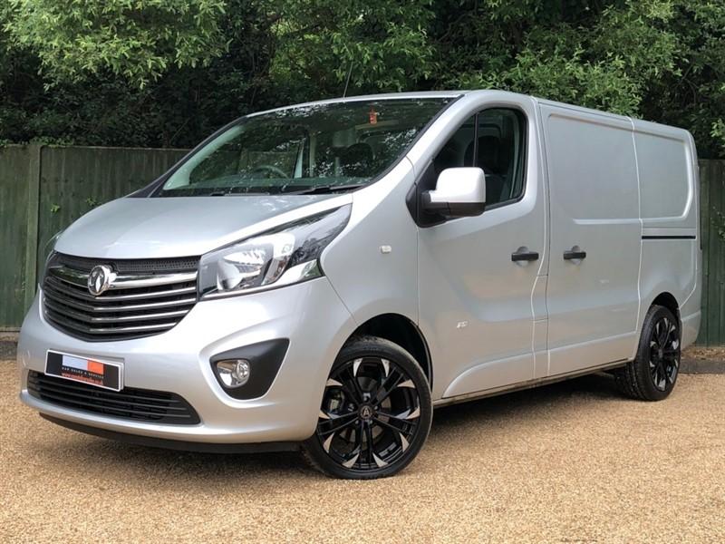 used Vauxhall Vivaro CDTi ecoFLEX BiTurbo Sportive Panel Van (s/s) 5dr in in-dorset