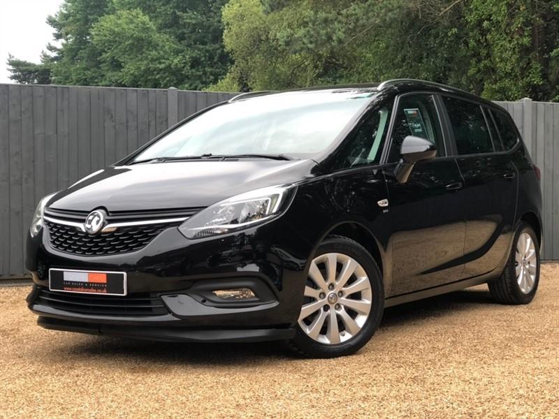 used Vauxhall Zafira Tourer CDTi ecoTEC SRi Nav (s/s) 5dr in in-dorset
