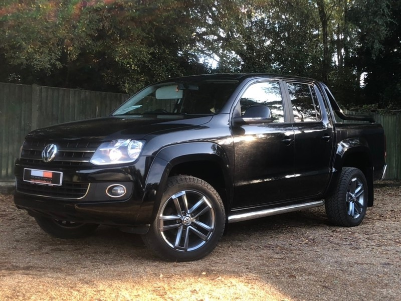 used VW Amarok BiTDI Highline Sel Pickup 4MOTION 4dr in in-dorset