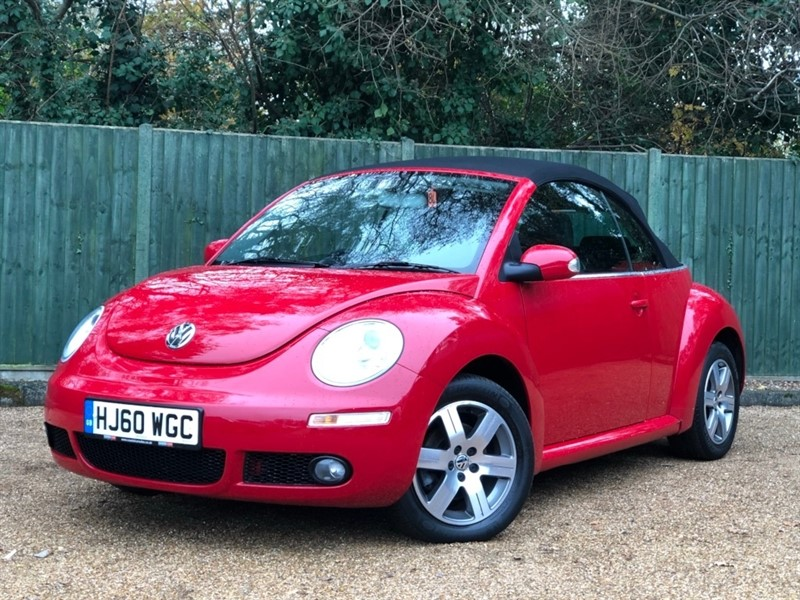 used VW Beetle Sola Cabriolet 2dr in in-dorset