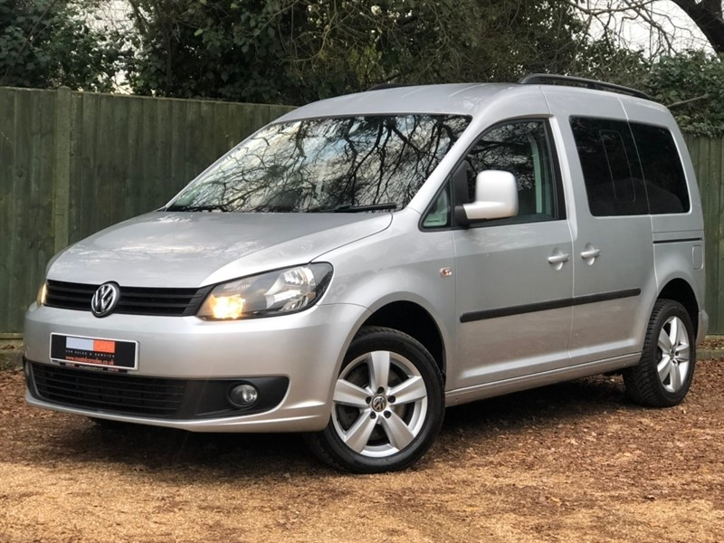 used VW Caddy Life TDI Mini Bus DSG 4dr in in-dorset