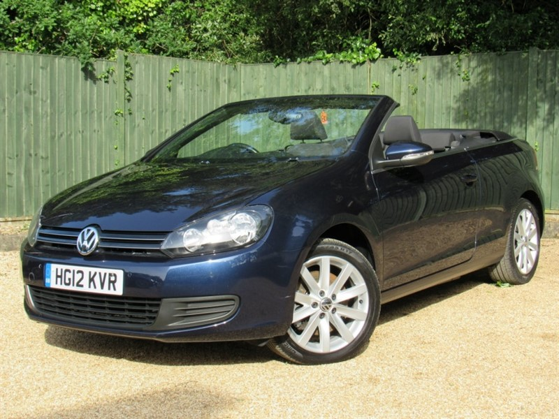 used VW Golf TDI BlueMotion Tech SE Cabriolet 2dr in in-dorset
