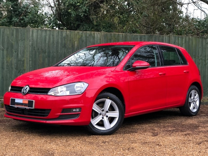 used VW Golf TDI BlueMotion Tech Match Edition DSG (s/s) 5dr in in-dorset