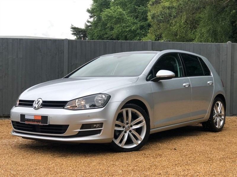 used VW Golf TSI BlueMotion Tech ACT GT DSG (s/s) 5dr in in-dorset