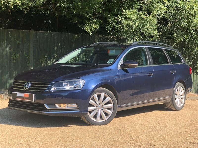 used VW Passat TDI BlueMotion Tech Highline 5dr in in-dorset