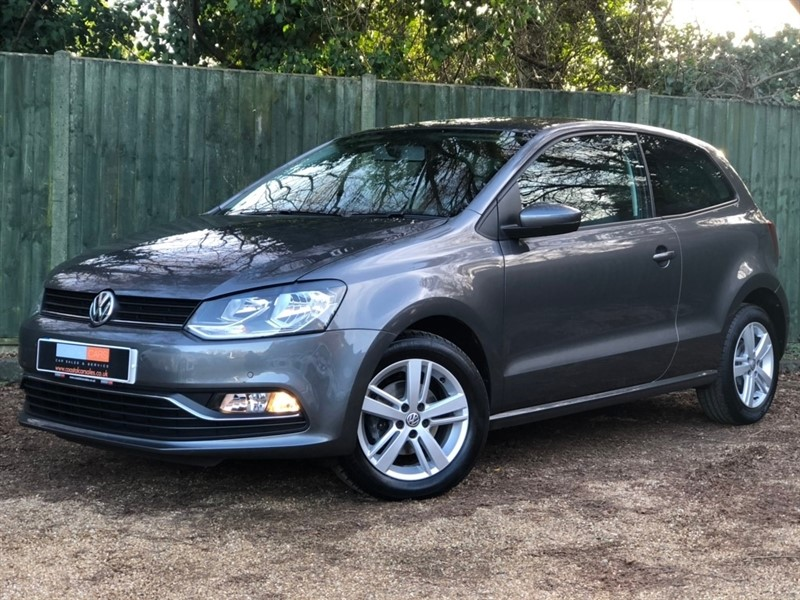 used VW Polo TDI BlueMotion Tech Match (s/s) 3dr in in-dorset