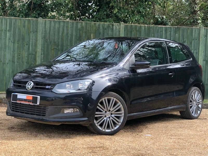 used VW Polo TSI BlueMotion Tech ACT BlueGT (s/s) 3dr in in-dorset