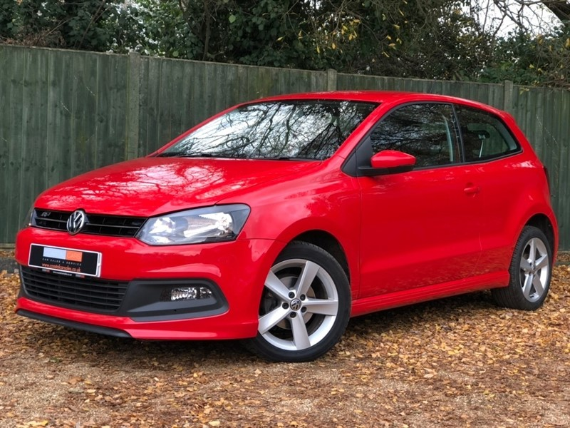 used VW Polo R Line Style 3dr in in-dorset