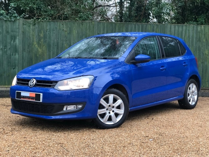 used VW Polo Match 5dr in in-dorset
