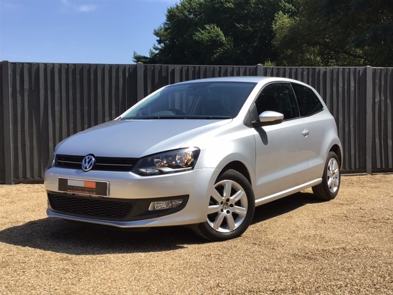 used VW Polo Match Edition DSG 3dr in in-dorset