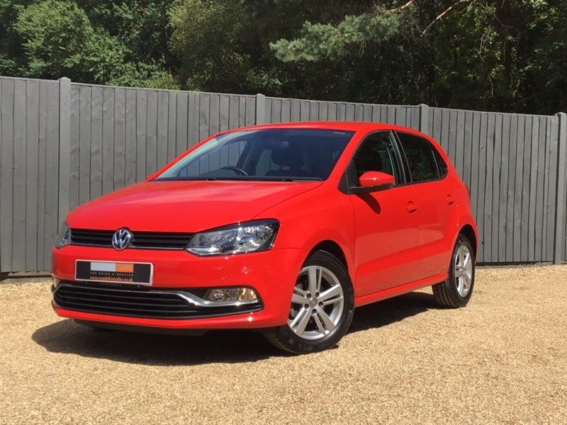 used VW Polo TSI BlueMotion Tech Match Edition (s/s) 5dr in in-dorset