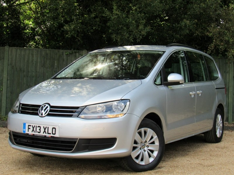 used VW Sharan TD BlueMotion Tech SE MPV DSG 5dr in in-dorset
