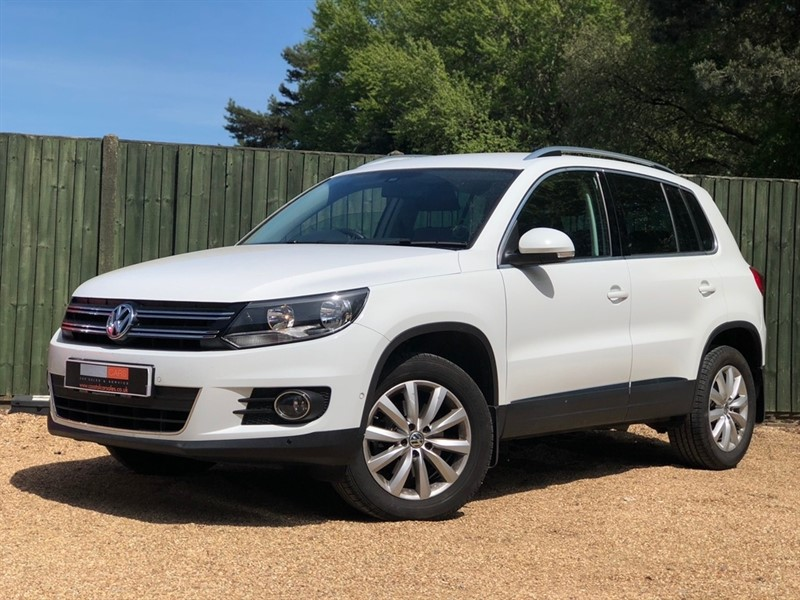 used VW Tiguan TDI BlueMotion Tech Match DSG 4WD (s/s) 5dr in in-dorset