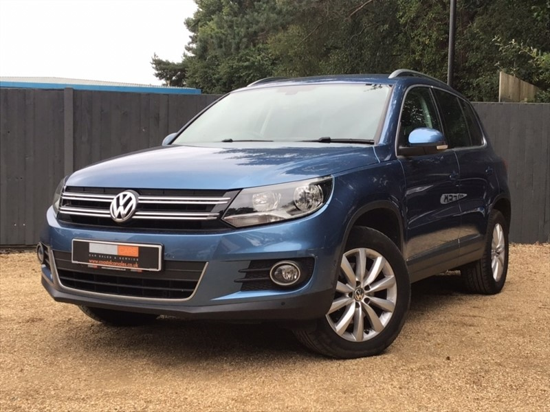 used VW Tiguan TDI BlueMotion Tech Match DSG 4MOTION (s/s) 5dr in in-dorset