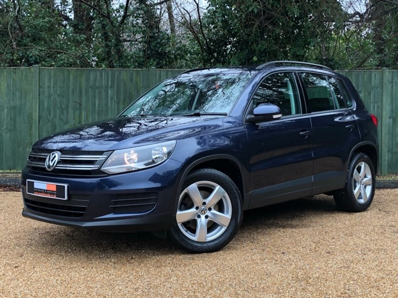 used VW Tiguan TDI BlueMotion Tech S 5dr (start/stop) in in-dorset