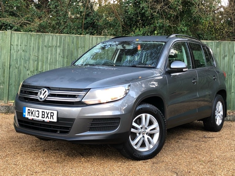 used VW Tiguan TDI BlueMotion Tech S Station Wagon 4WD 5dr (start/stop) in in-dorset