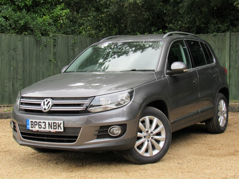 used VW Tiguan TDI BlueMotion Tech Match Station Wagon 2WD 5dr (start/stop) in in-dorset