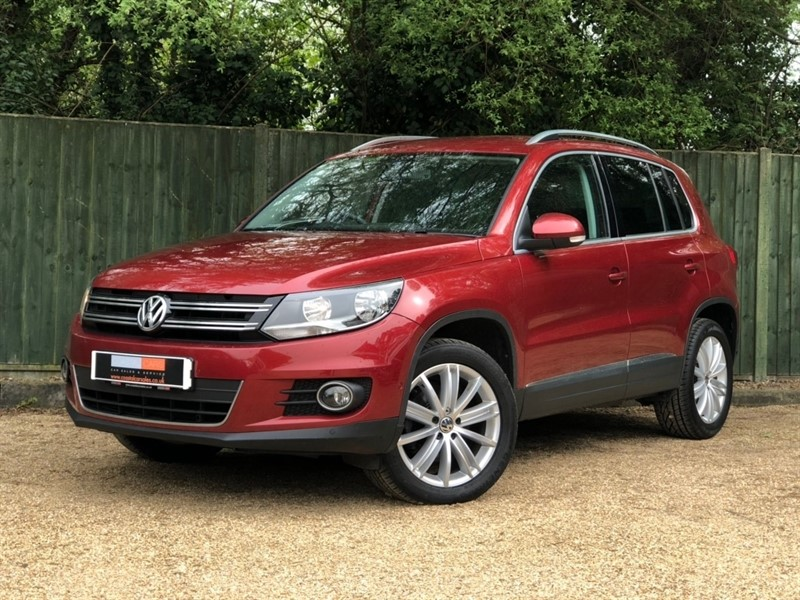used VW Tiguan TDI BlueMotion Tech Match Edition 4MOTION (s/s) 5dr in in-dorset