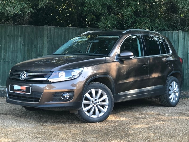 used VW Tiguan TDI BlueMotion Tech Match 4MOTION (s/s) 5dr in in-dorset