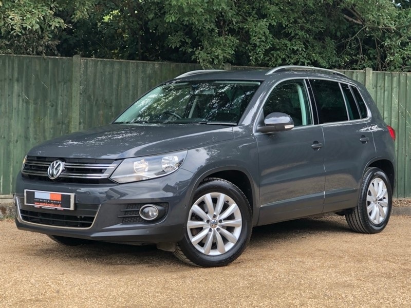 used VW Tiguan TDI BlueMotion Tech Match 5dr in in-dorset