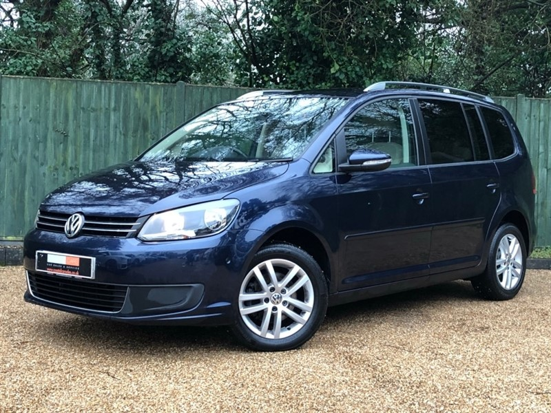used VW Touran TDI SE 5dr in in-dorset