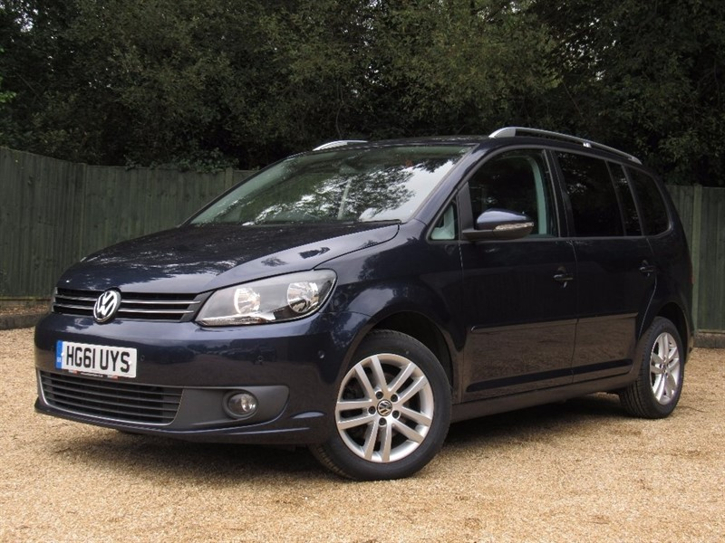 used VW Touran TDI BlueMotion Tech SE 5dr (start/stop) in in-dorset