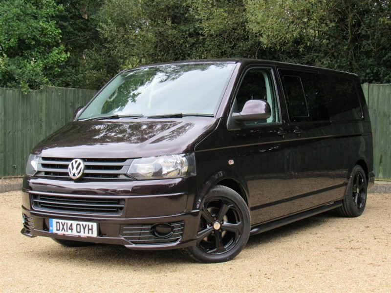 used VW Transporter 2.0 TDI BlueMotion Tech T32 Trendline Kombi 4dr (LWB) in in-dorset