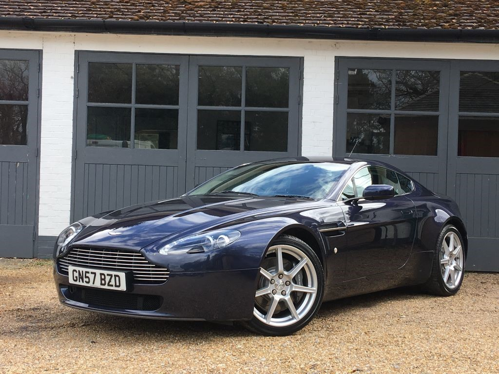 Used Sapphire Blue Aston Martin Vantage for Sale | West Sussex