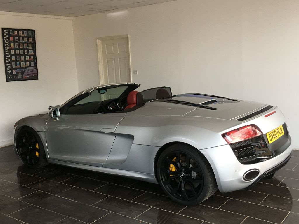 used ice silver audi r8 for sale west sussex. Black Bedroom Furniture Sets. Home Design Ideas