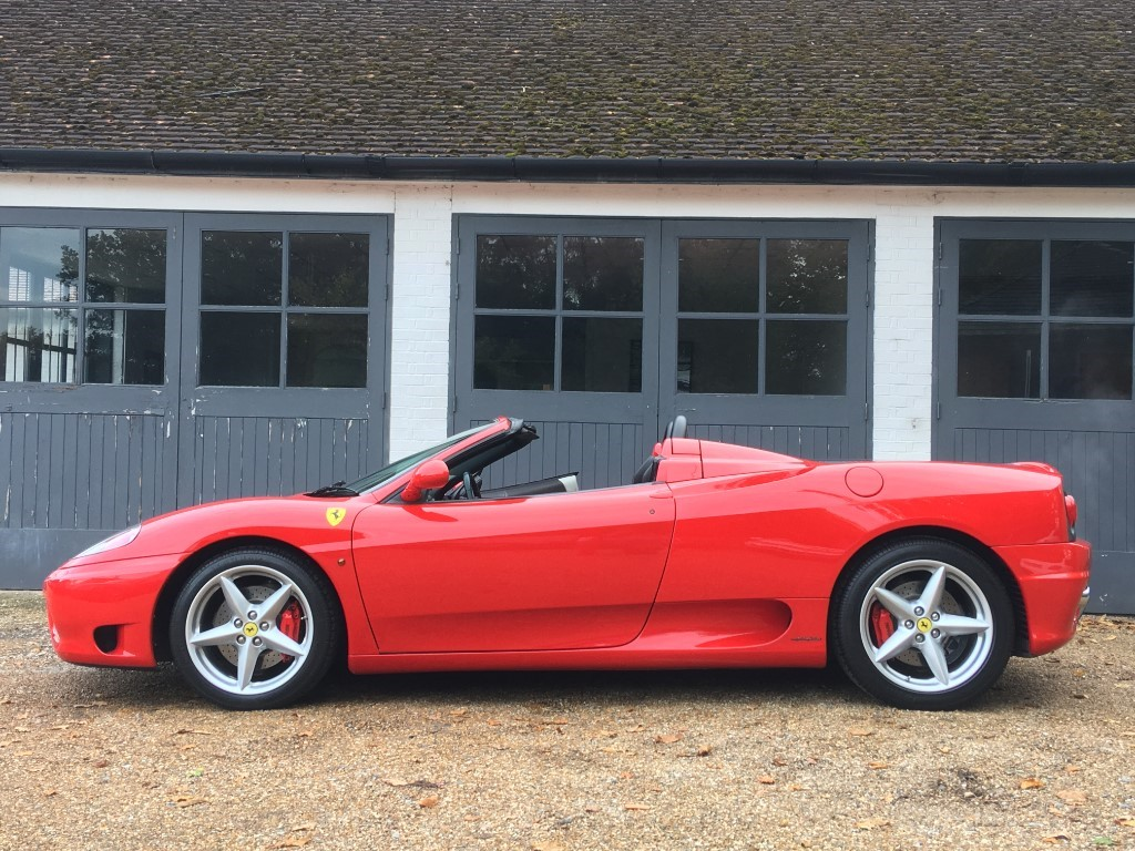 Used Rosso Corsa Ferrari 360 For Sale West Sussex