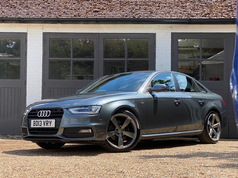 used Audi A4 TDI S LINE BLACK EDITION in west-sussex