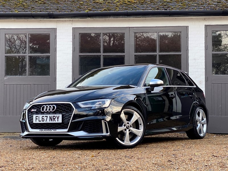used Audi RS3 RS 3 TFSI QUATTRO in west-sussex