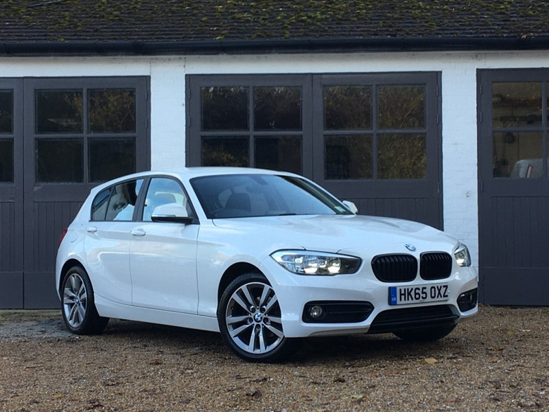 used BMW 118i SPORT in west-sussex