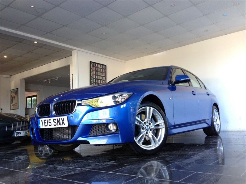 used BMW 335d M SPORT x Drive in west-sussex